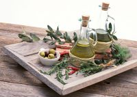 olive oil from our olive trees